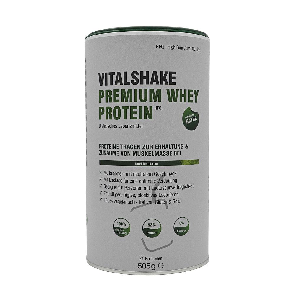 Vitalshake Premium Whey Protein Natur