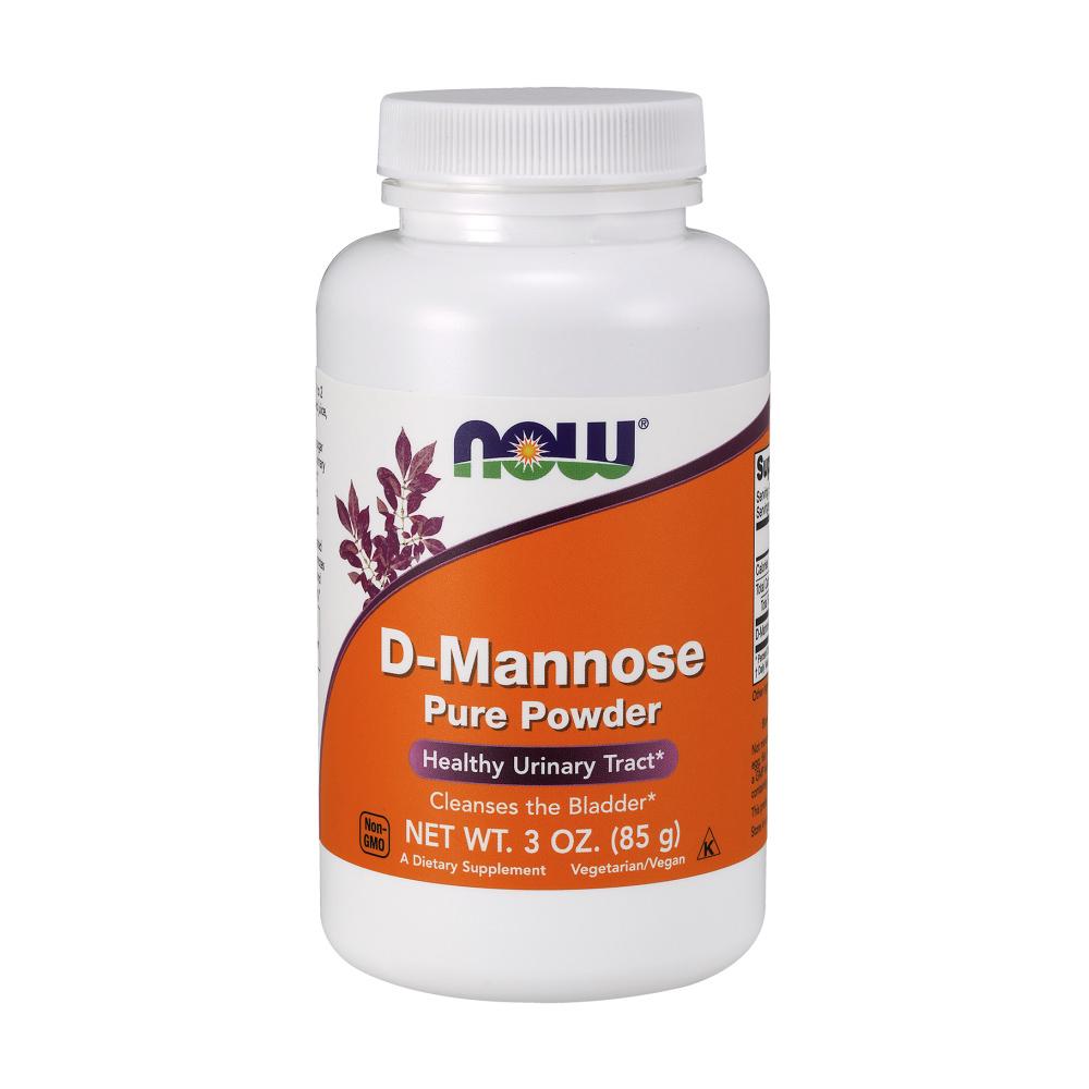 D-Mannose Pulver 85g hochrein von NOW Foods