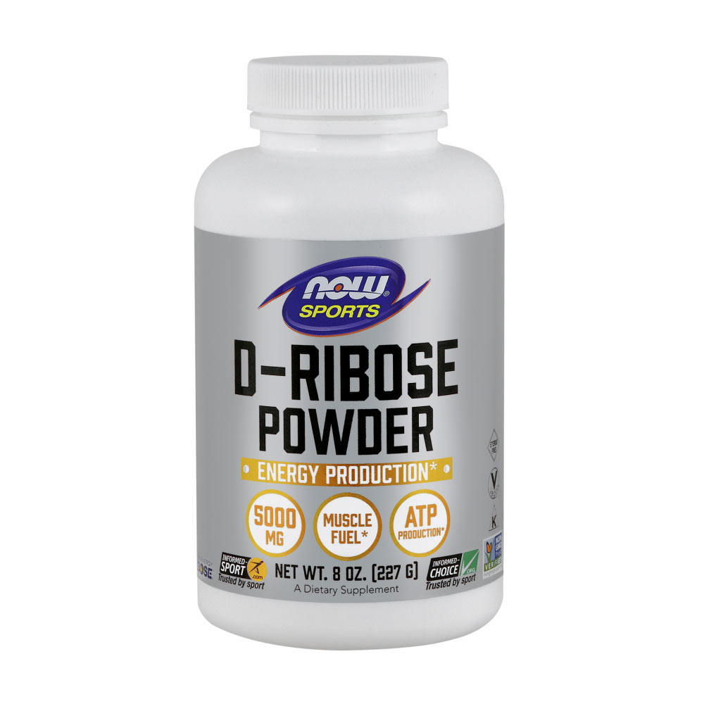 D-Ribose Pulver NOW Foods 8 oz (227g)