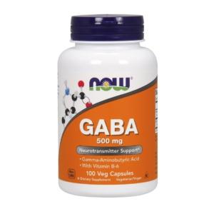 GABA Kapseln 500mg Gamma- Aminobuttersäure