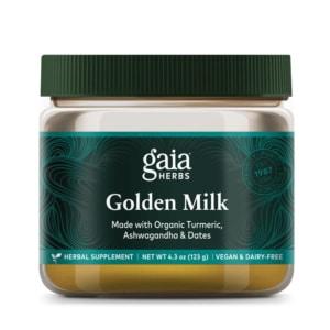 Golden Milk Pulver mit Ashwagandha
