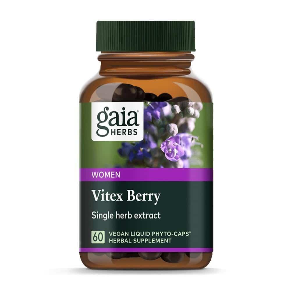 Vitex Berry von Gaia Herbs 60 Kapseln