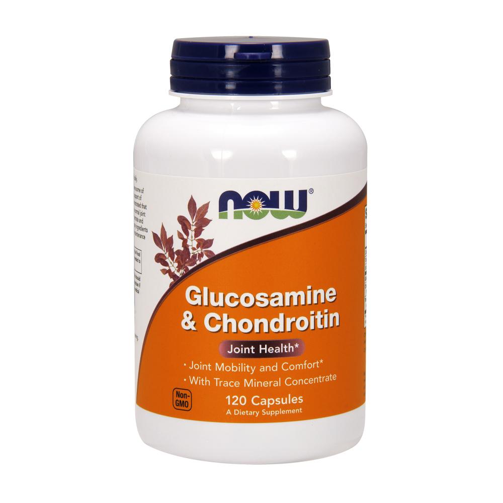 Glucosamine & Chondroitin Kapseln mit natürlichen Minteralien