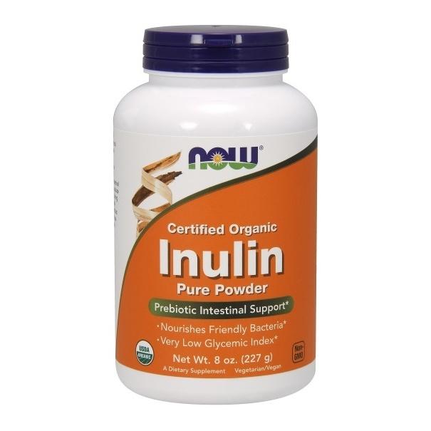 Now Foods - Inulin Pulver 227g (8 oz) organisch