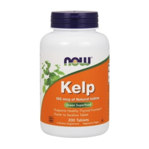 Kelp Tabletten - pflanzliches Jod