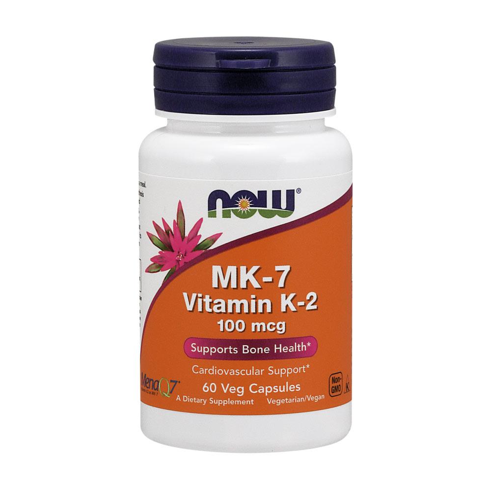 Now Foods Vitamin K2 MK-7 Kapseln 100 mcg MK7