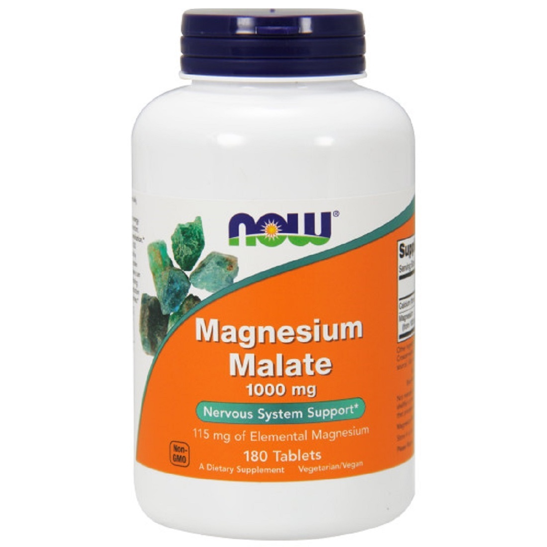 Magnesium Malat Tabletten 1000 mg von NOW Foods