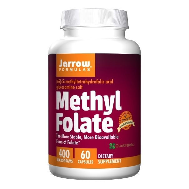Jarrow Formulas - Methyl Folate 400mcg