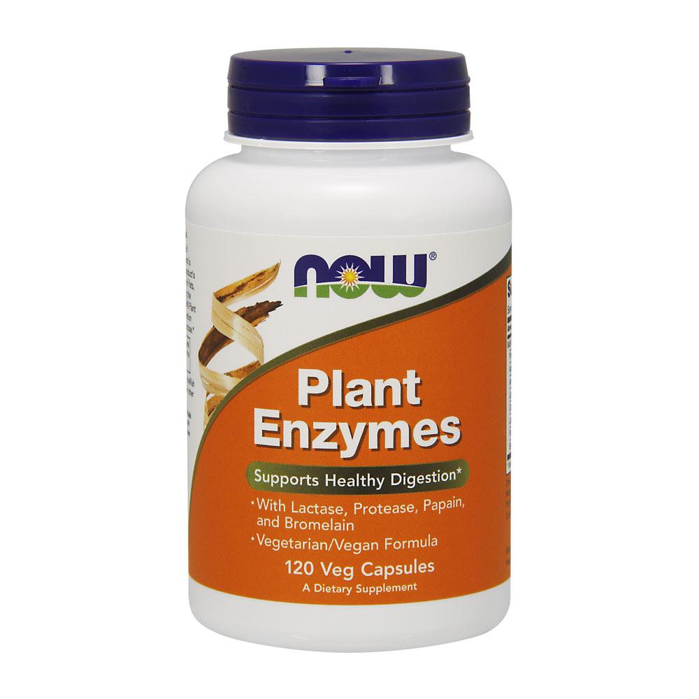 Plant Enzymes 120 Kapseln pflanzliche Verdauungsenzyme von NOW Foods