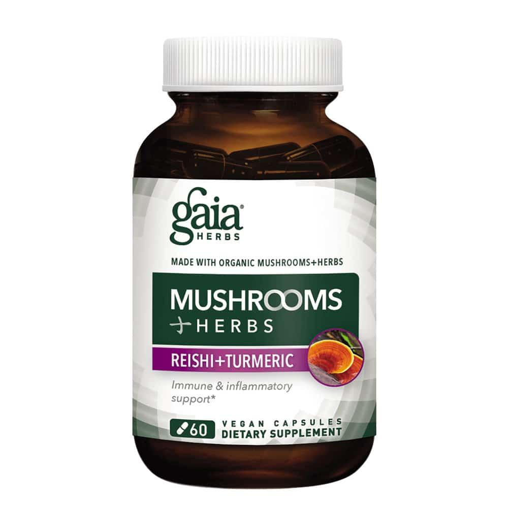 Mushrooms + Herbs Reishi Turmeric