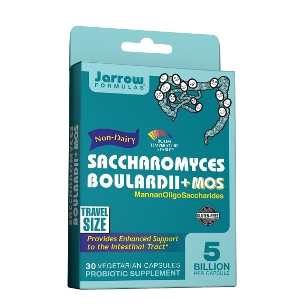 Jarrow Forumulas, Saccharomyces Boulardii + MOS - 30 Kapseln vegetarisch