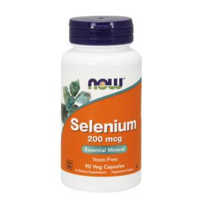 Selenium 200mcg 90 Vcaps Selenomethionin