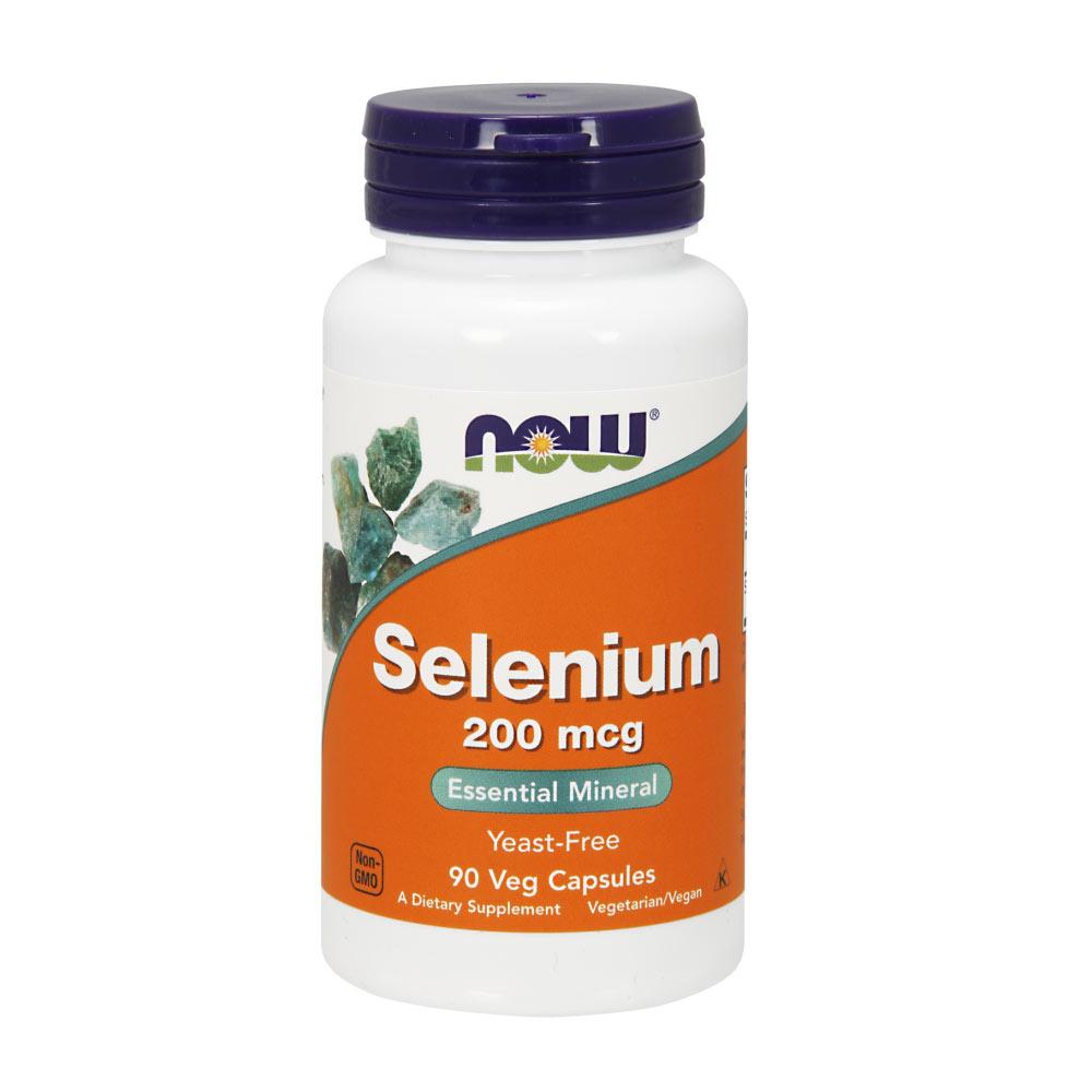 Selenomethionin 200 mcg Selen Kapseln vegetarisch von NOW Foods