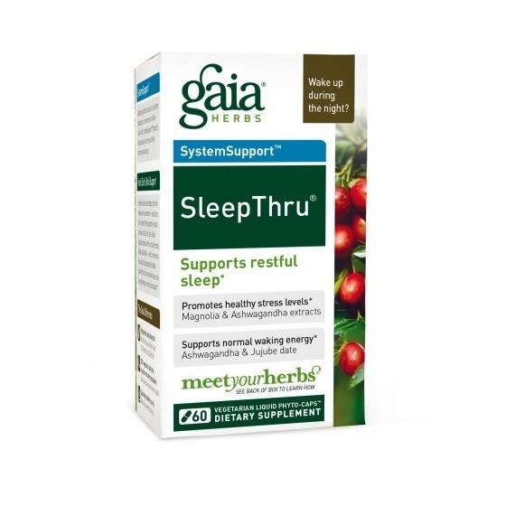 SleepThru von Gaia Herbs 60 Kapseln