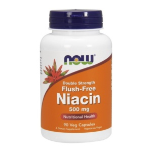 Niacin flush free 500mg - Vitamin B3 Kapseln