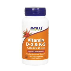 Vitamin D3 & K2 Kapseln