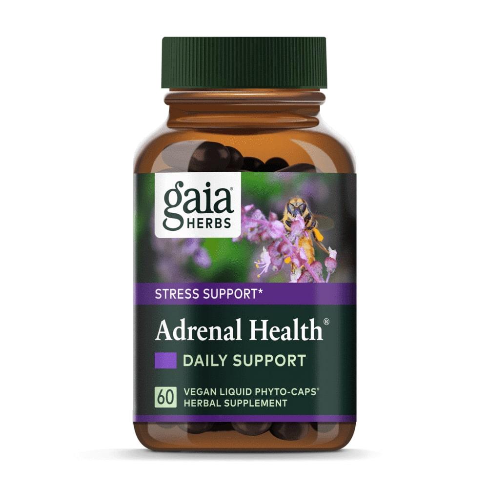 Adrenal Health Kapseln von Gaia Herbs vegan