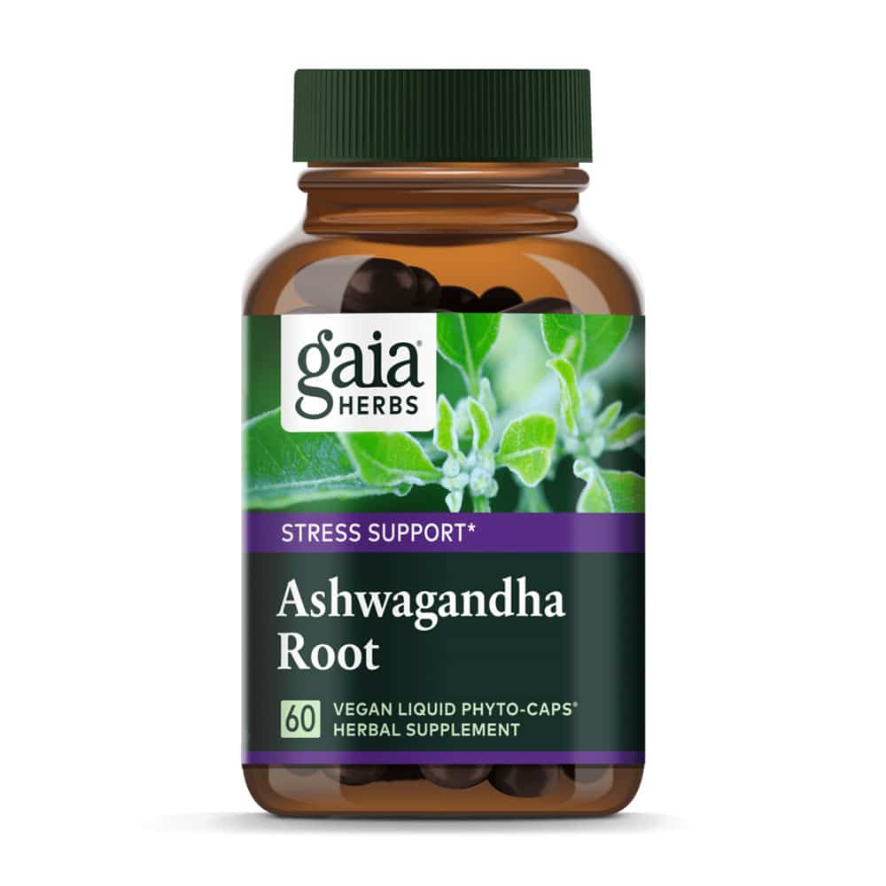 Ashwagandha Kapseln von Gaia Herbs