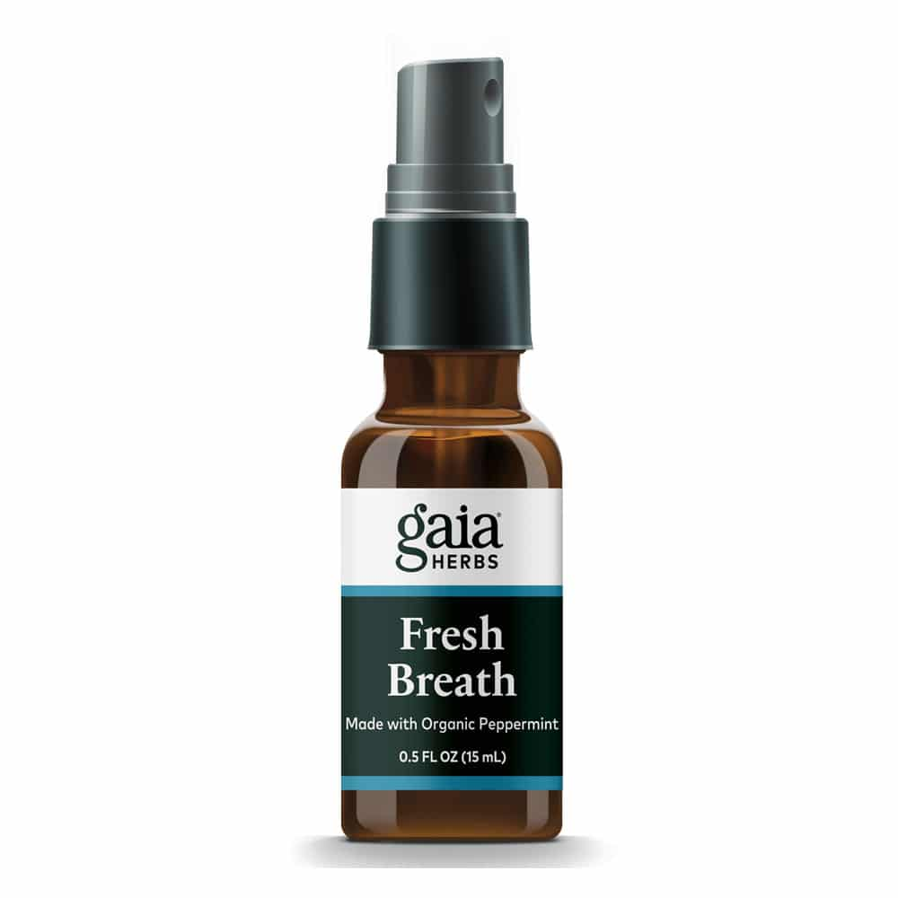 Fresh Breath antibakterieller rein pflanzlicher Mundspray