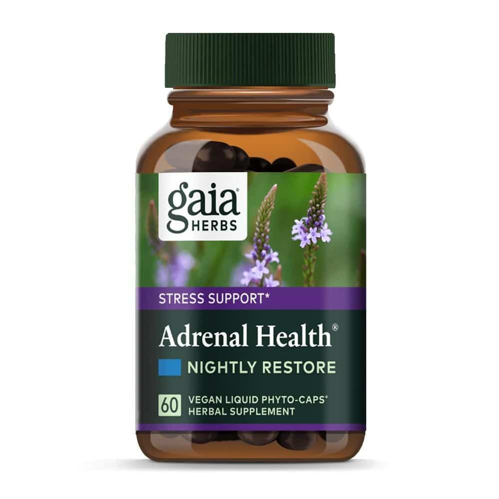 Adrenal Health, Stress Support, Nightly Restore