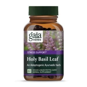 Holy Basil Leaf von Gaia Herbs