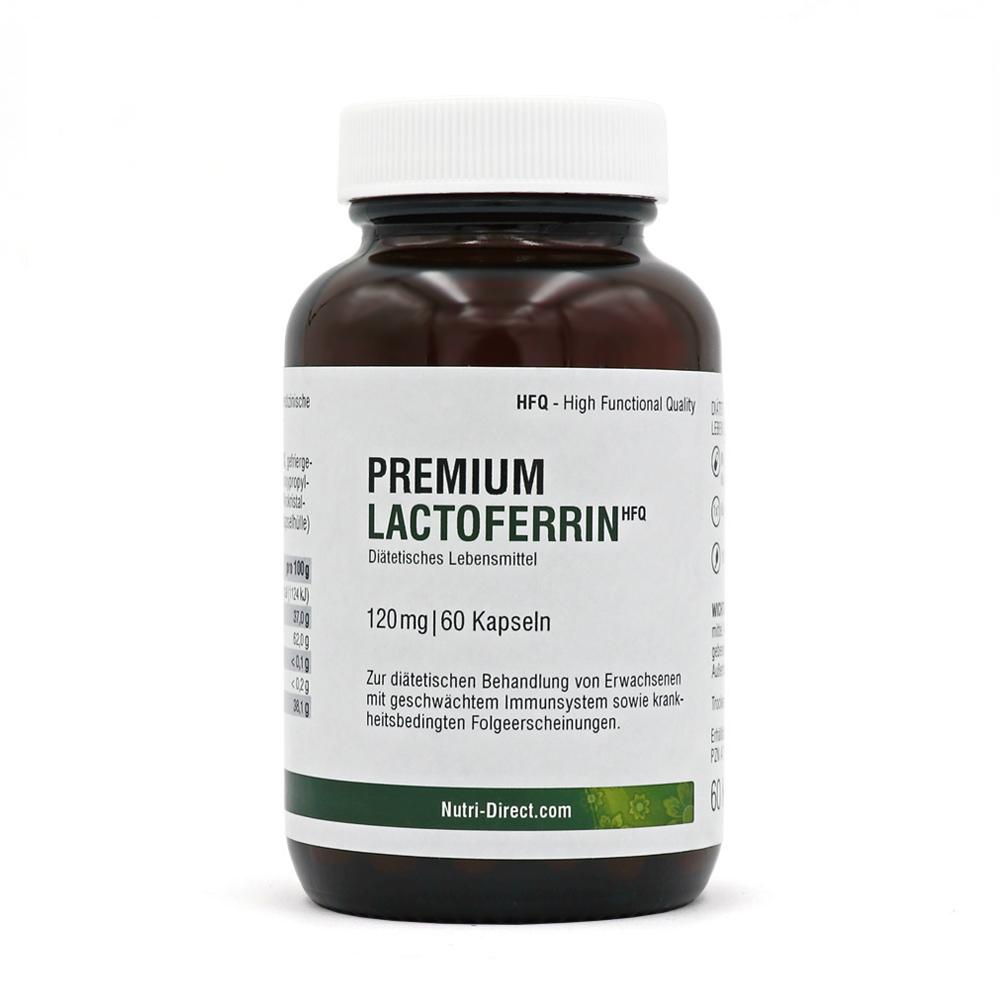 Lactoferrin 120 mg vegetarische Kapseln