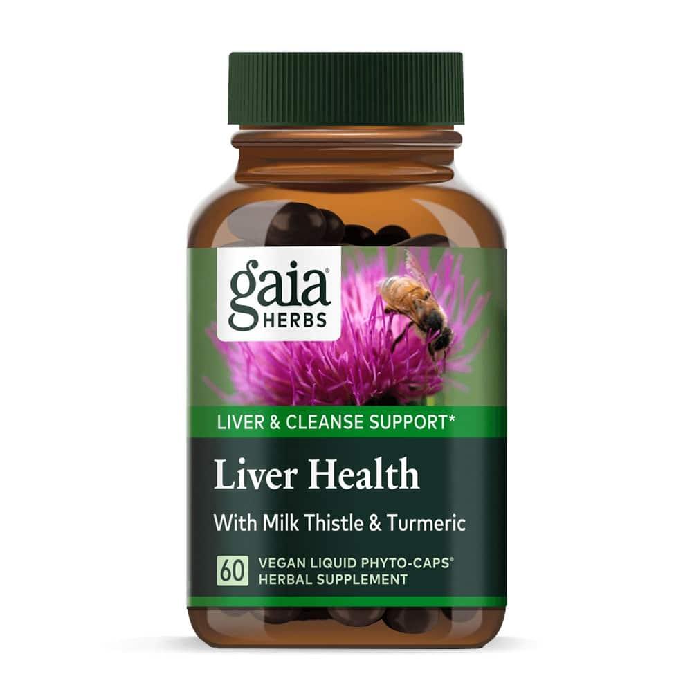 Liver Health von Gaia Herbs vegan