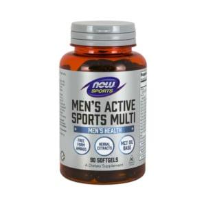 Men Active Sports Multi 90 Softgel Kapseln