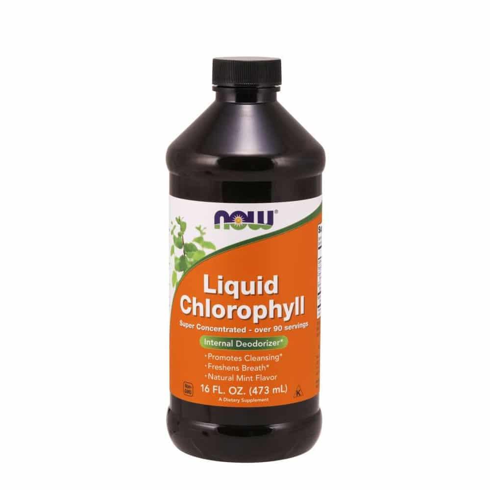 Now Foods, Chlorophyll flüssig 16oz/473ml