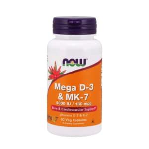 Mega Vitamin D3 & K2 MK7 Kapseln
