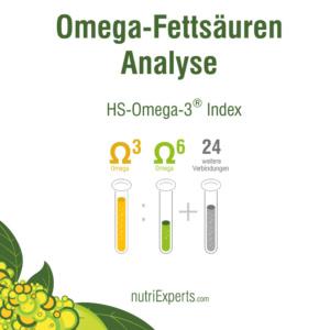 NutriExperts - Omega - Fettsäuren - Analyse