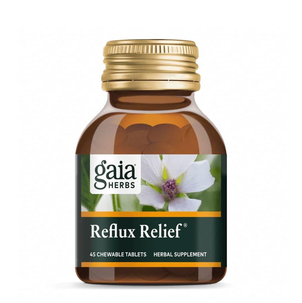 Gaia Herbs - Reflux Relief 15 Tabletten vegetarisch