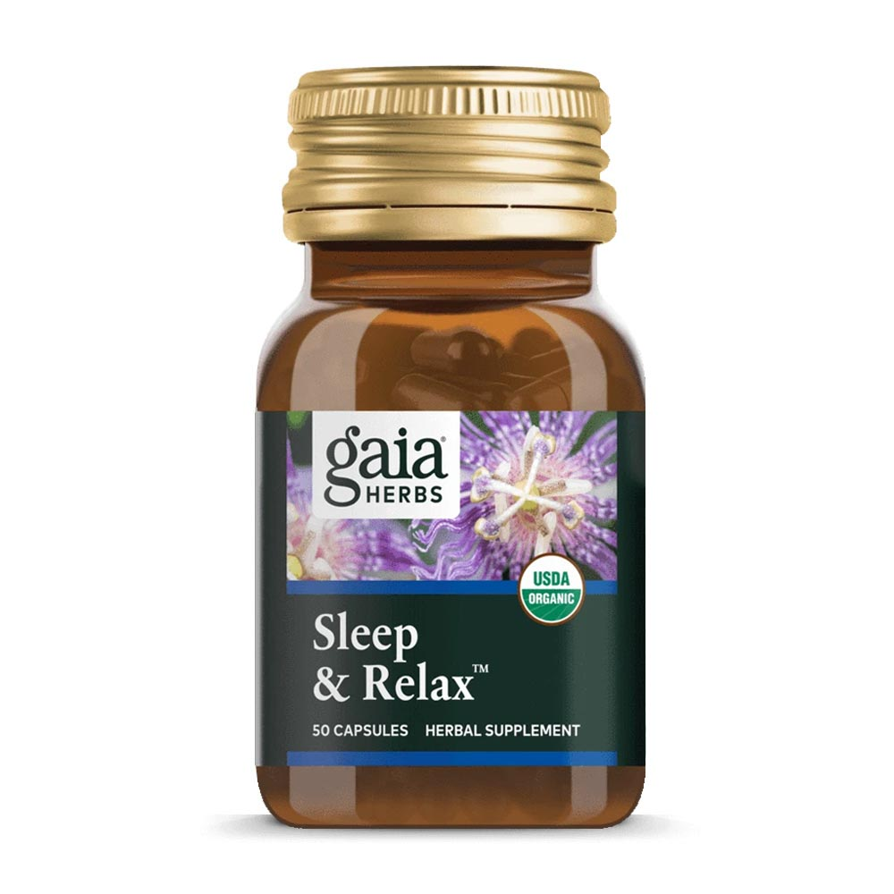 Sleep & Relax Kapseln von Gaia Herbs