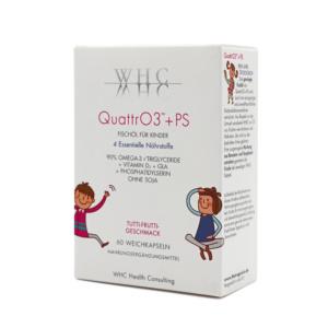 WHC QuattrO3+PS - Omega-3 Fischölkomplex für Kinder