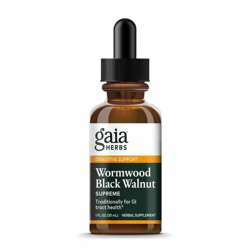 Gaia Herbs Wormwood Black Walnut Supreme 30ml
