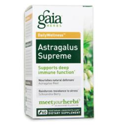 Gaia Herbs Astragalus Supreme vegetarische Kapseln