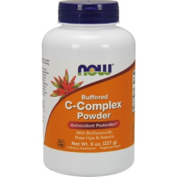 Vitamin C Pulver Komplex 227 g von NOW Foods