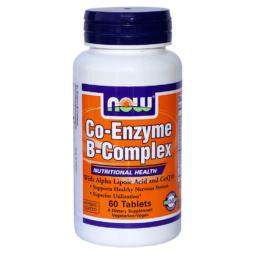 Co-Enzym B-Complex 60 Tabletten von NOW Food