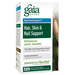 Hair, Skin & Nail Support von Gaia Herbs vegan