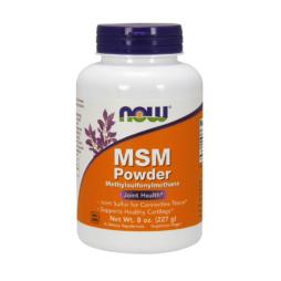 pures MSM Pulver 227 gramm von NOW Foods