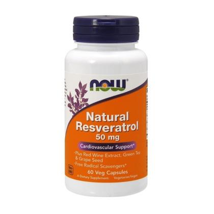Natural Resveratrol 50mg Kapseln