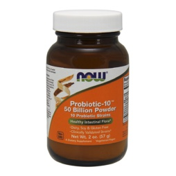 Probiotic-10 Pulver 50 Billion CFU von NOW Foods