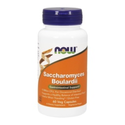 Saccharomyces Boulardii Kapseln von NOW Foods
