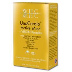 WHC UnoCardio Active Mind + Vision Komplex von Nutrogenics
