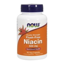 Niacin Flush Free Vitamin B3 Kapseln 500mg von NOW Foods