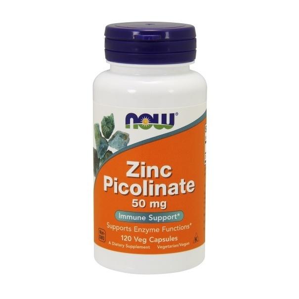 Now Foods, Zink Picolinat 50 mg - 120 vegetarische Kapseln
