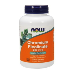 Now Foods Chromium Picolinate 200mcg 250 CAPS