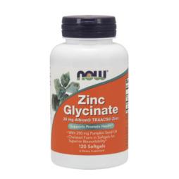 Zink Glycinat Softgel Kapseln 30mg von NOW Foods
